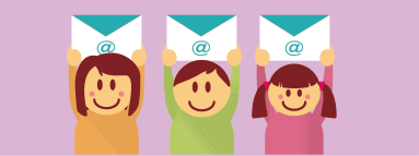 メールサービスのイメージ